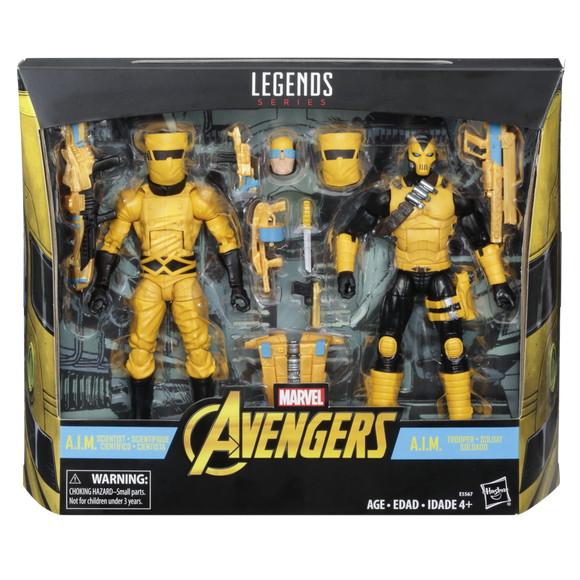 Marvel Legends A.I.M. Scientist and Shock Trooper Action Figures 2-Pack (***Pre-Order***)