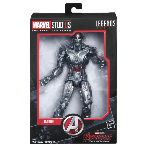 Marvel Legends Cinematic Universe 10th Anniversary Ultron 6-Inch Action Figure(***PRE-ORDER***)