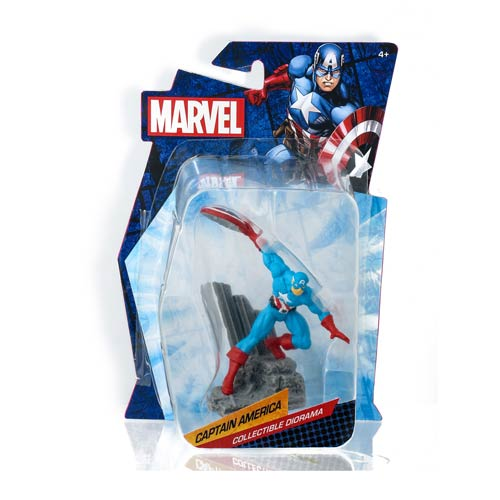 Captain America Marvel Heroes Collectible Diorama Mini-Figure