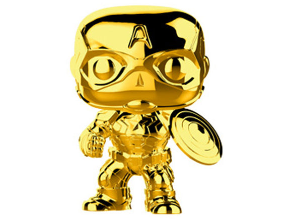 Pop! Marvel Studios 10 - Gold Chrome Captain America (ETA TBD by Funko)