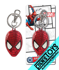 Spider-Man Colored Pewter Key Ring