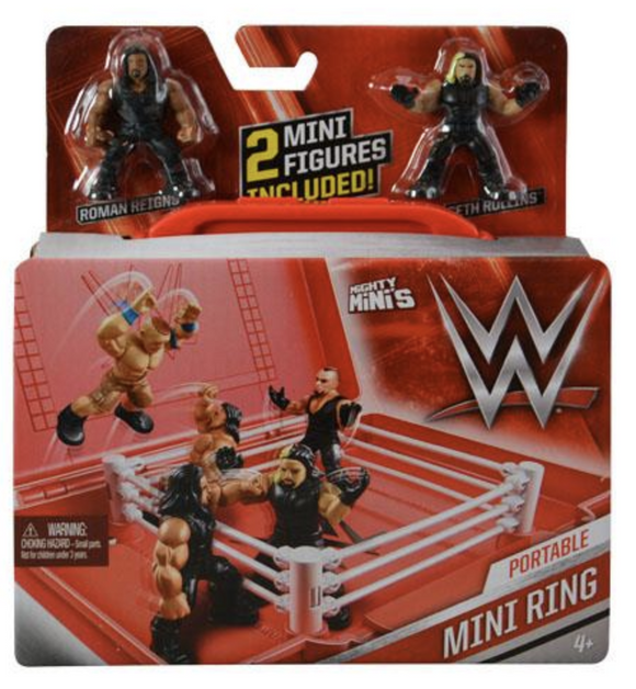 WWE Mini Portable Ring