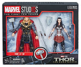 Marvel Legends Cinematic Universe 10th Anniversary Thor and Sif 6-Inch Action Figure 2-Pack