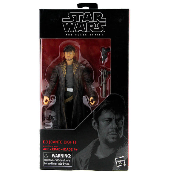 Star Wars: The Black Series - DJ (Canto Bight) #57