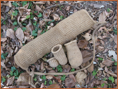 How to make a cordage basket