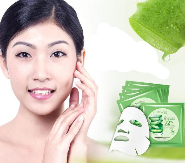 Korean Natural Aloe Face Mask