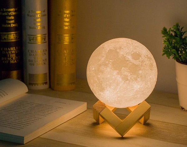 3D Moon Night Lamp