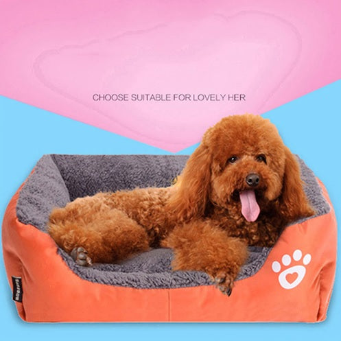 Comfortable Pet Bed - Gold Gadget Box