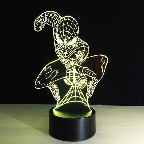 Spiderman Led Light