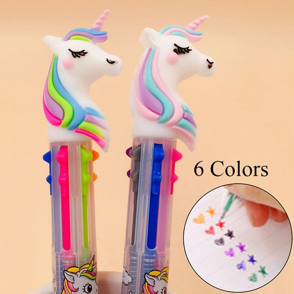 Unicorn Ballpoint Pen - Gold Gadget Box