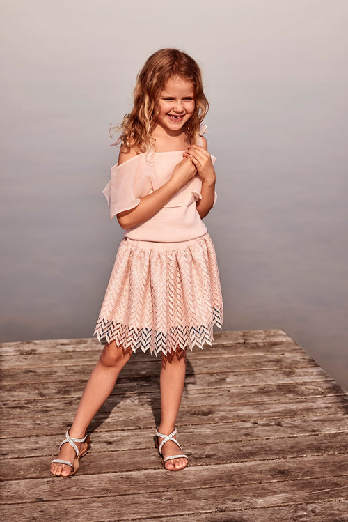 Little Horizon skirt blush