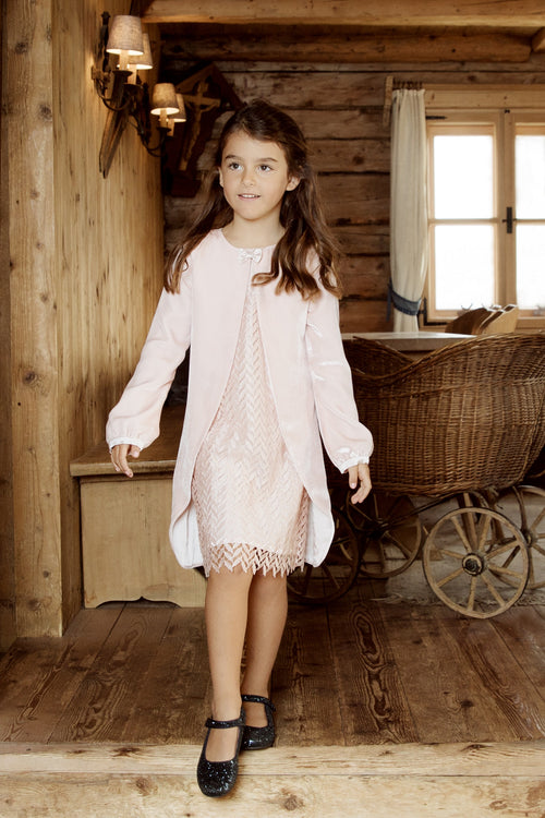 Little merry Kleid in pale pink