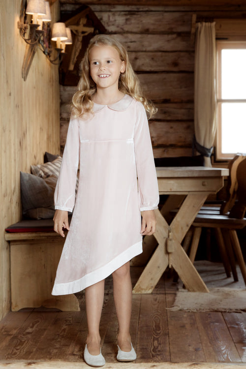 Little Grace dress in pale pink