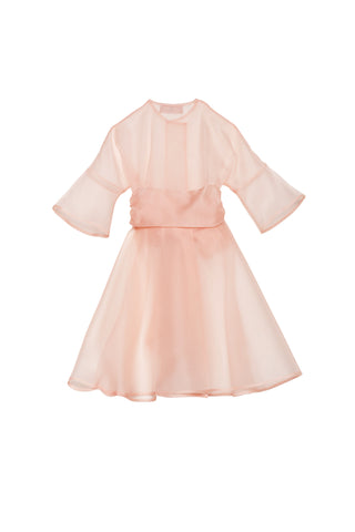Sunshine dress blush