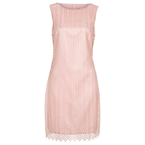 Little rose dress in pale pink