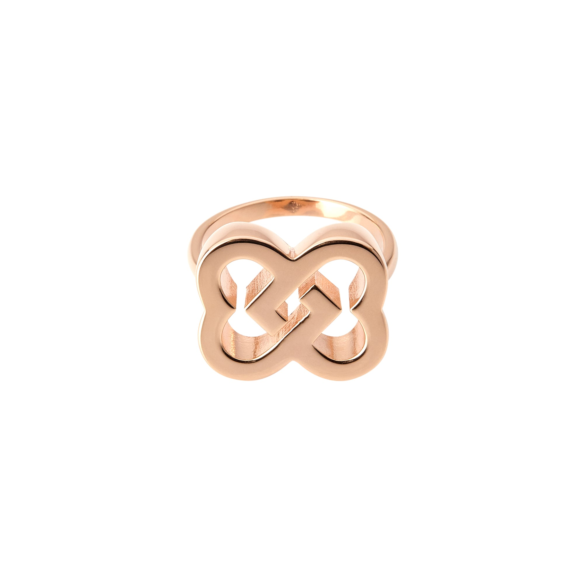 Little Love Ring in pink gold