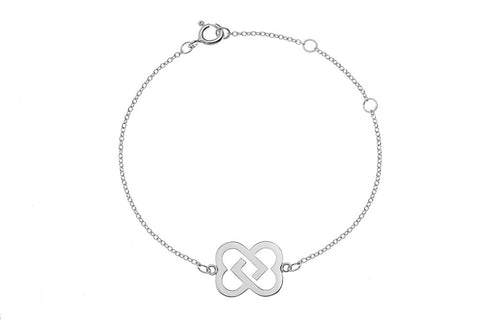Friendship Bracelet in sterling silver
