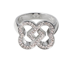 Big Love Ring in white gold