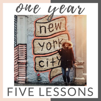 One Year, Five Major Lessons