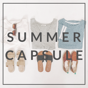 How to Build Your Summer Capsule: and Must-Have Styles