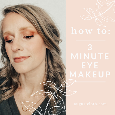 How To: 3 Minute Eye Makeup