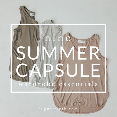 9 Summer Capsule Wardrobe Essentials