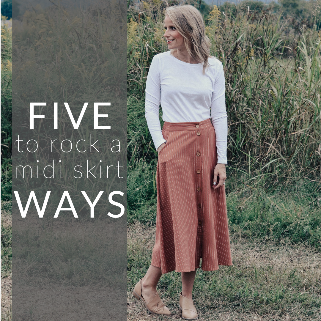 Five (5) Ways to Rock a Midi Skirt This Fall