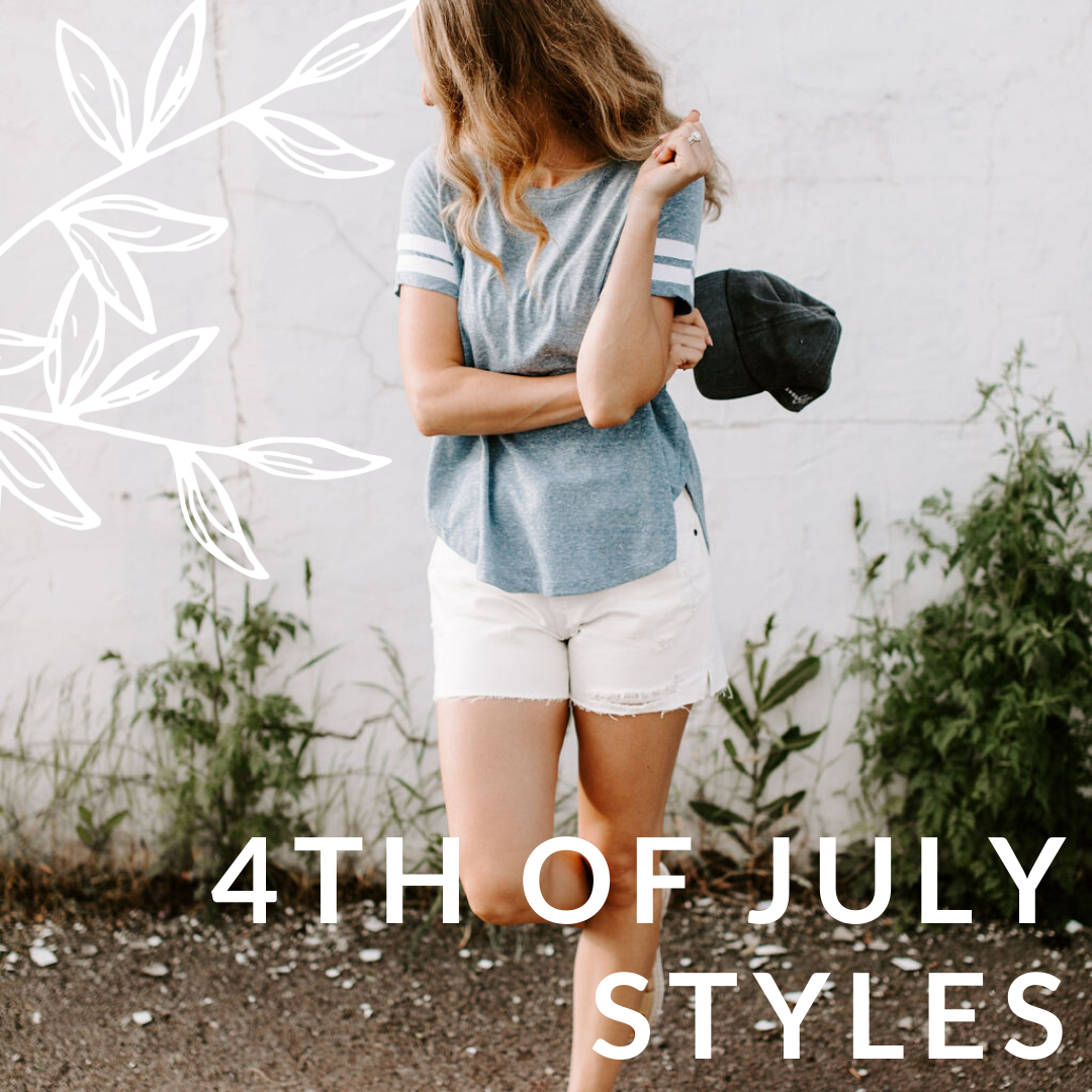 Casual and Cute 4th of July Styles