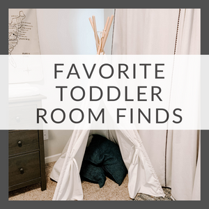 Easy (and Cheap) Toddler Boy Room