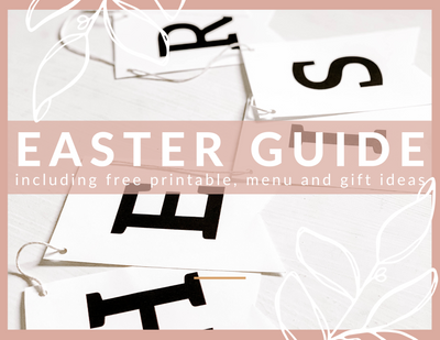 At-Home Easter Guide: 4 Ways to Make Easter Extra Special