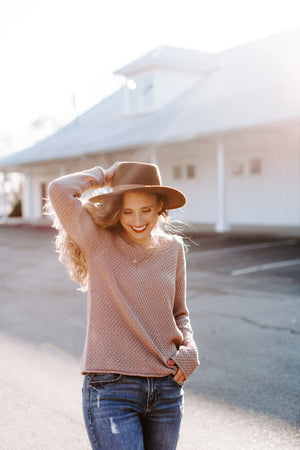 taupe_knit_sweater