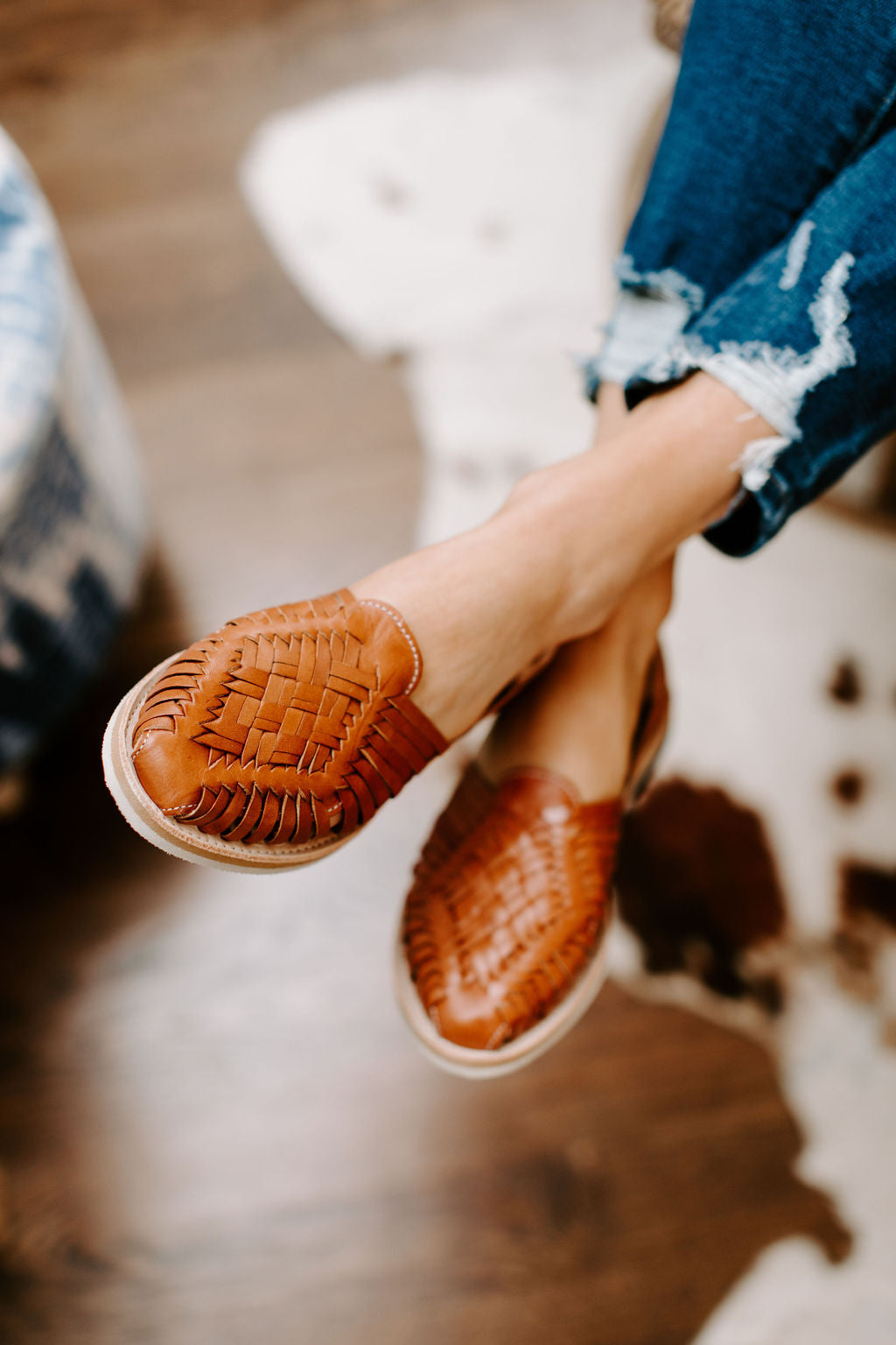 cognac_braided_leather_huarache_flat