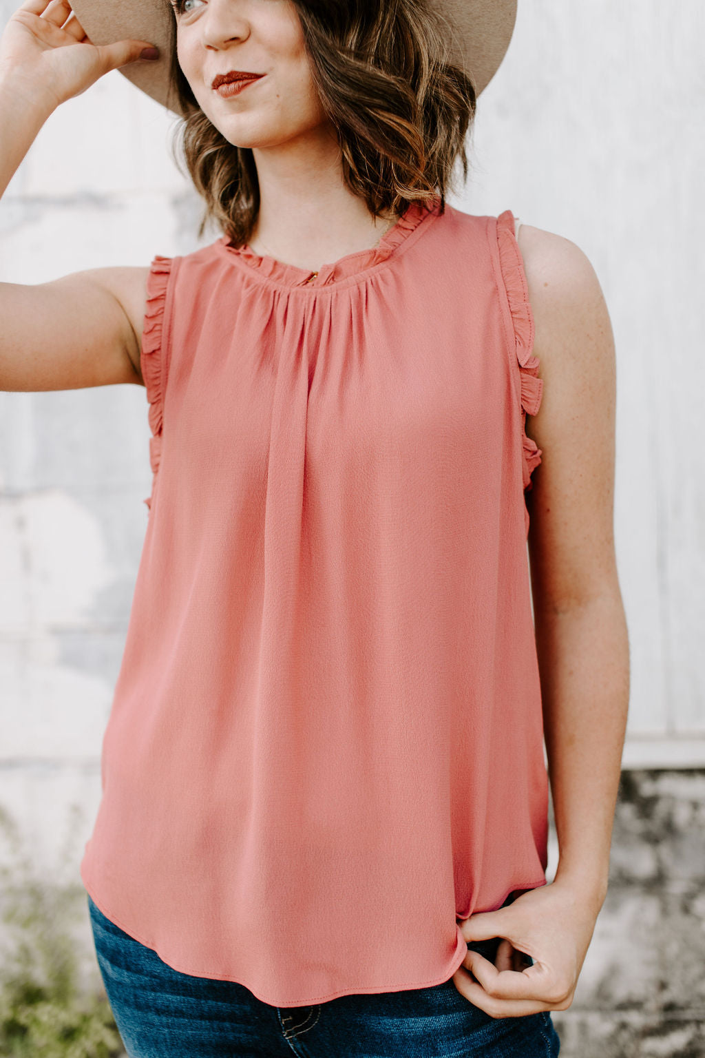 rose_hi_low_tank_blouse