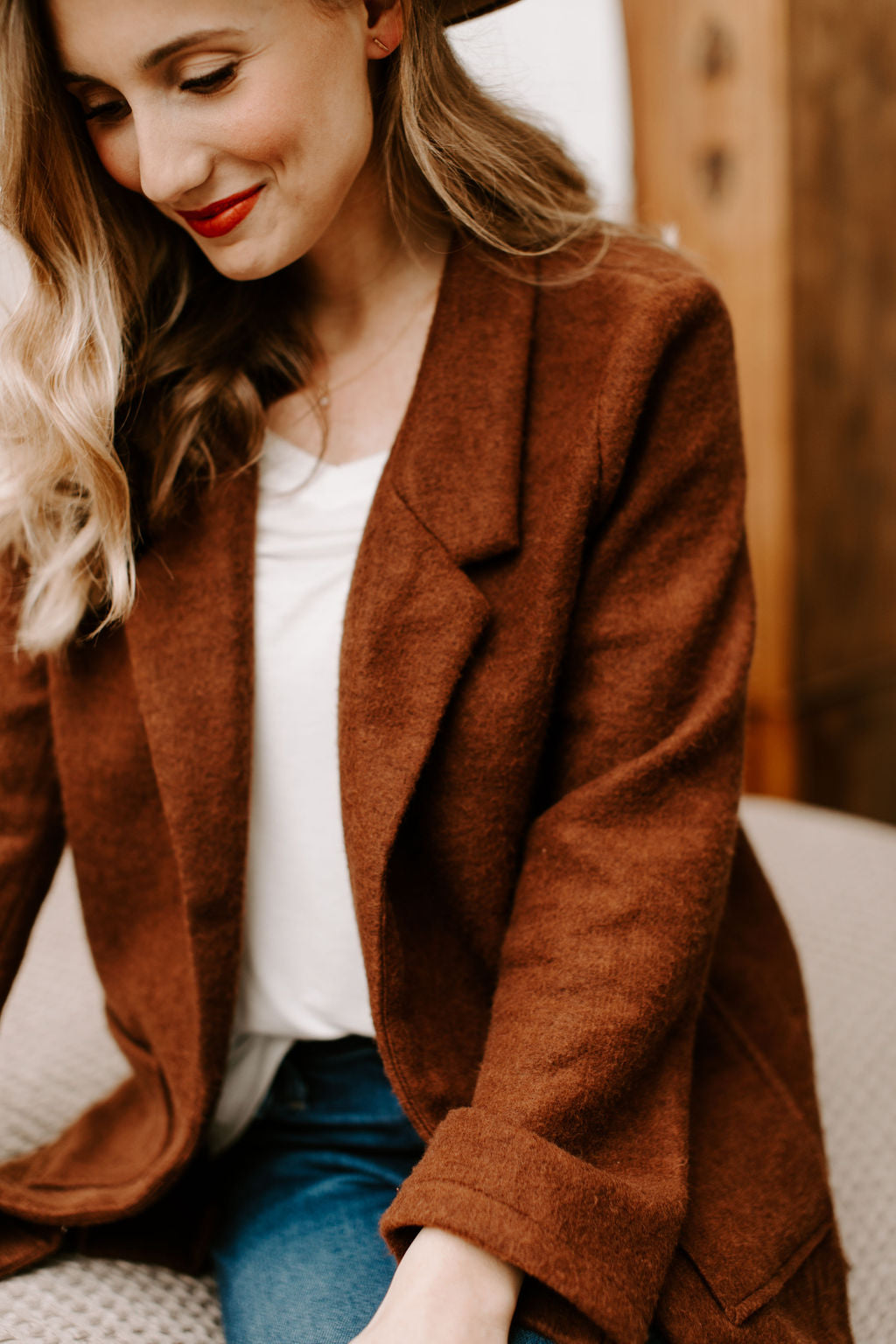 womens_rust_blazer