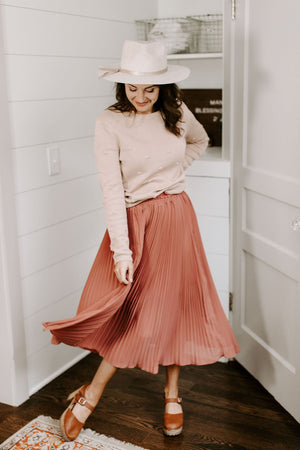 mauve_pleated_skirt