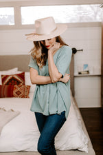 aqua_oversized_button_up_top