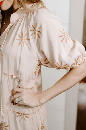 peach_embroidered_midi_dress