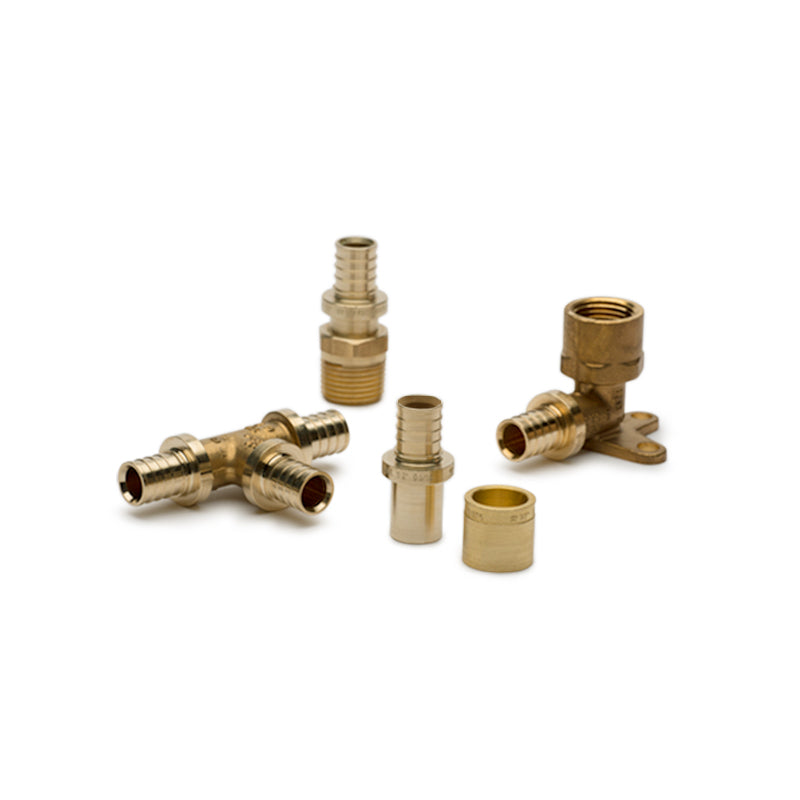 Pex Fittings Tribal Brass