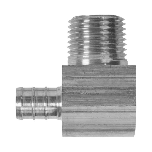 Lead-Free Male Pipe Elbow Adapters - 1/2