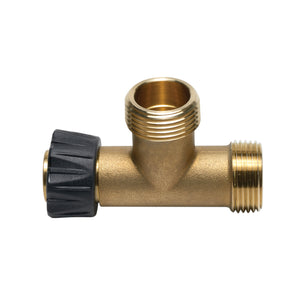 "Tap-A-Tee Body - Add-A-Line Tee, Hubz Nut × 1/2"" Hubz Receiver × 1/2"" Hubz for Stacked Valves"