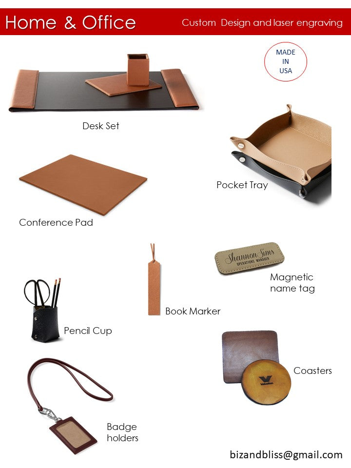 leather good catalog custom