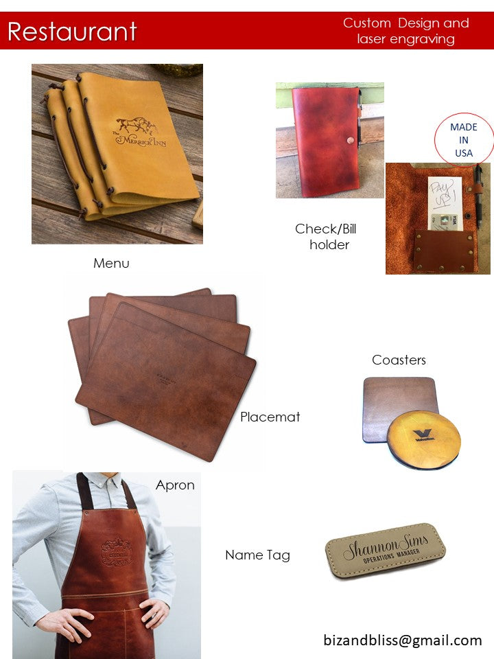 custom leather goods