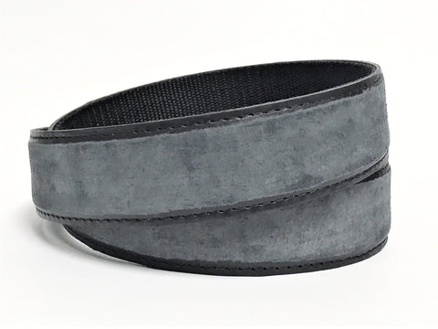 Raw Leather Belt - Suede - super soft touch - Clac Belt