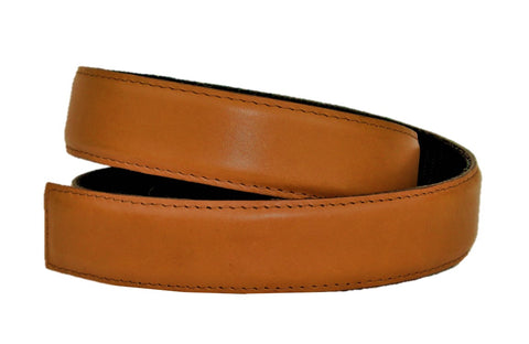 Natural Tan Leather Belt - Clac Belt