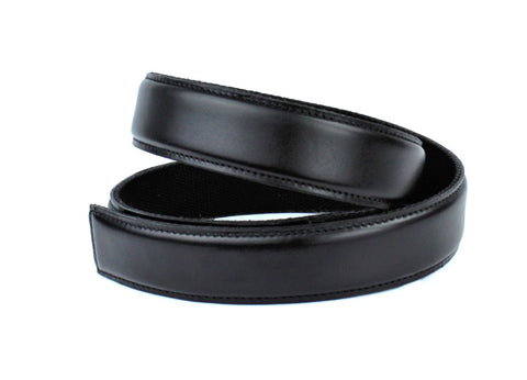 Black Leather Belt - Clac Belt