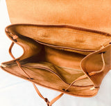 Backpack - Authentic Leather - - Clac Belt