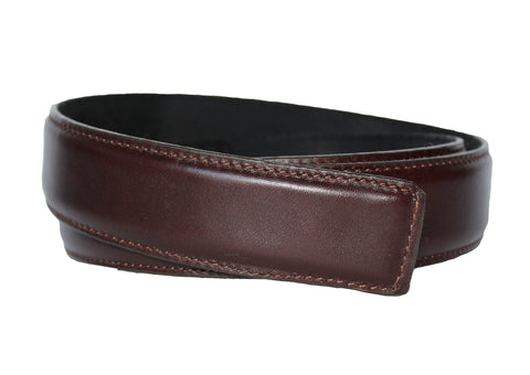 Chocolate Brown Leather Belt - Clac Belt