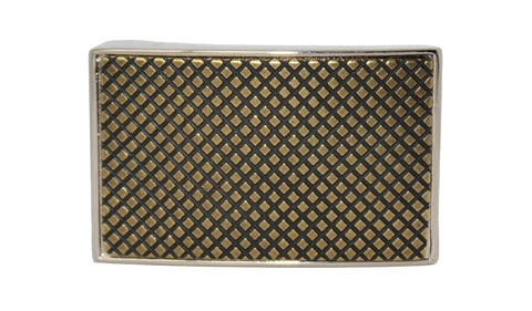 Edison Gold Metallic Buckle - Clac Belt