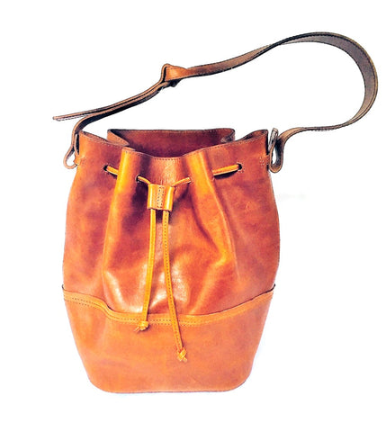 Shoulder Bag - Authentic Leather - Clac Belt