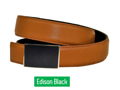 Natural Tan Belt & Buckle - Clac Belt